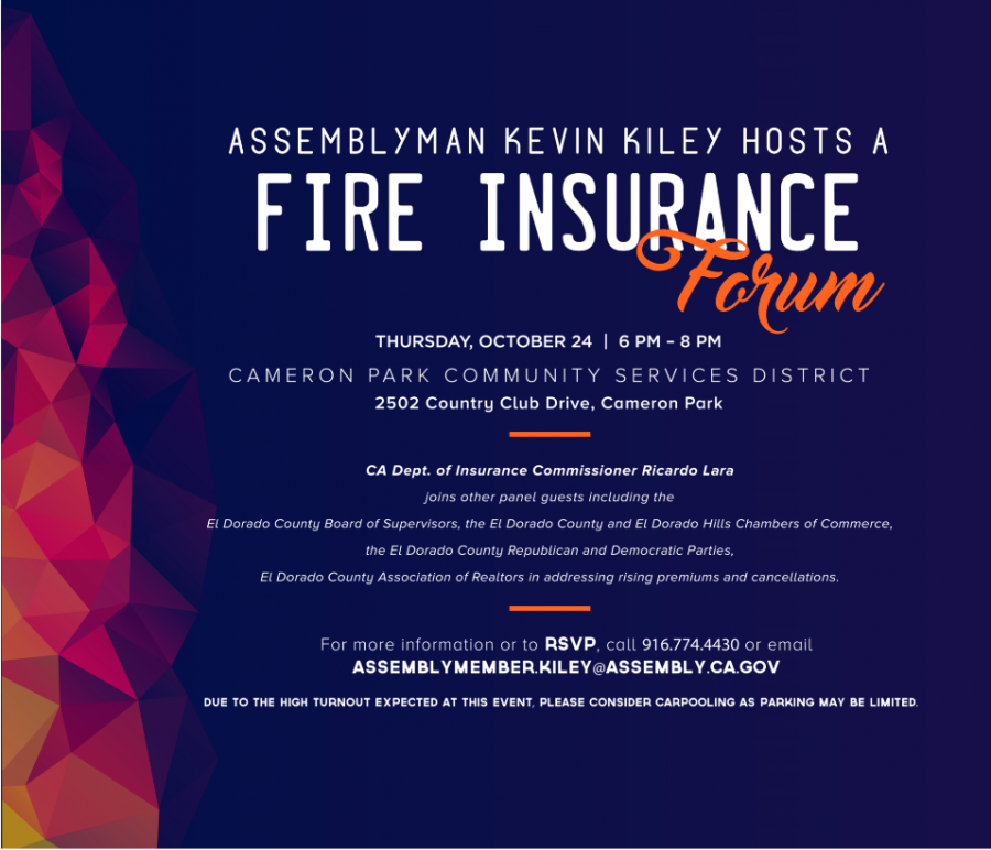 October 24, 2019 – TIME CHANGE for Fire Insurance Forum & Vigil for Sheriff Brian Ishmael