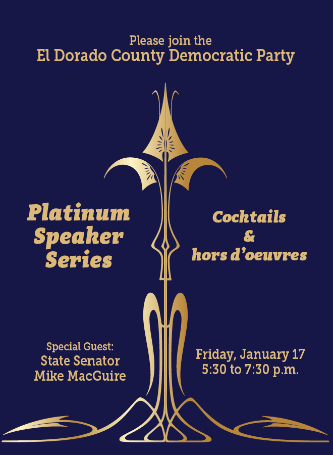 Platinum Speaker Cocktail Party – Jan. 17, 2019 – Tickets on sale now!