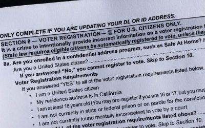 Would-be independents joining the American Independent Party could blame California's voter registration card