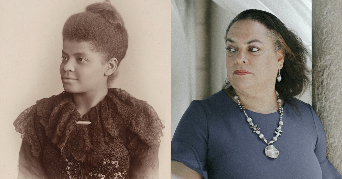 Ida Wells and Granddaughter
