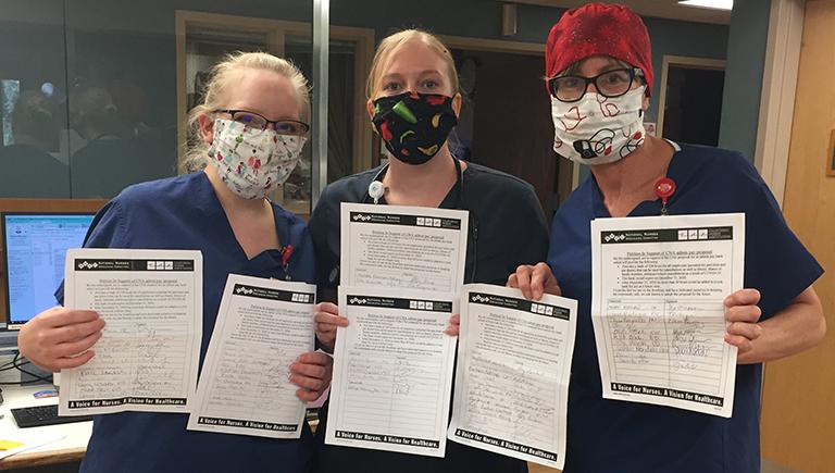 Barton Nurses circulate petition for proper Covid-19 protections - 5/1/2020